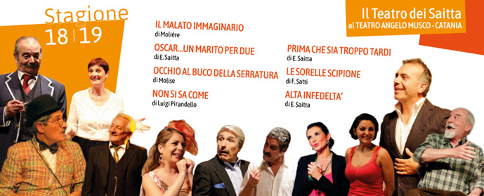 La Compagnia dei Saitta al Teatro Angelo Musco