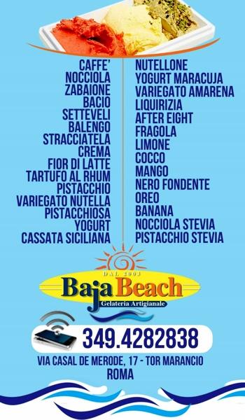 Gelateria Baja Beach